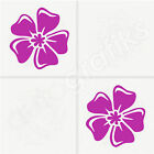12x HIBISCUS TILE DECALS / Tile Transfers / Stickers - 2 Sizes avail. (T15)