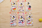 Cute BOY Japan Shin-Chan 2IN1 Stand Hard Back Case Cover For iPhone 6 / 6 Plus