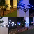 SET OF 5 LED OUTDOOR GARDEN CHRISTMAS XMAS SPARKLER PATH STAKE DECORATION LIGHTS