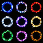 10M COPPER STARRY MICRO COPPER WIRE STRING FAIRY PARTY XMAS BAR 100 LED LIGHTS