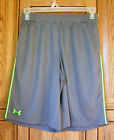 Under Armour Men's HG Loose Fit Green Flex Pipe Gray Training Shorts 1248179 042