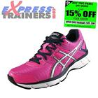 Asics Womens Gel Galaxy 8 Running Shoes Gym Fitness Trainers Pink *AUTHENTIC*