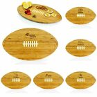 NFL Football Team Logo Theme Wooden Kitchen Cutting Board Serving Appetizer Tray