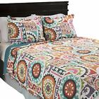 Gayle Colorful Quilted Blanket Bedspread Twin Queen King Reversible