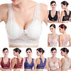 Sexy Women's Underwire Seamless Bra Deep V Padded Lace Brassiere Bra Cup A B C D