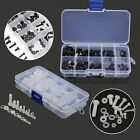 New 150pcs M2 M2.5 M3 M4 M5 Nylon Screw / Nut / Washer Assortment Kit