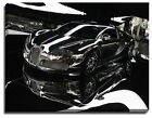 Canvas Print, Super Car bugatti mirror finish