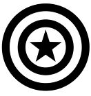 Captain America vinyl decal - sticker Car Laptop Window Orac