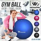 NEW WORKOUT WIZ SWISS BALLS YOGA HOME GYM EXERCISE PILATES FITNESS 55 65 75 85cm