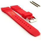ND Limits Silicone Rubber Waterproof Watch Strap Band PRO 18 20 22 24 MM