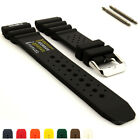 ND Limits Silicone Rubber Waterproof Watch Strap Band 18 20 22 24 PRO MM image