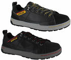 Mens Caterpillar Brode S1P Black Safety Steel Toe Trainers Shoes Sizes 6 to 12