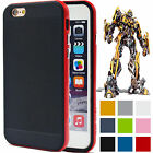 TPU Hybrid Thin Soft Shockproof Bumper Case Cover For Apple iPhone 6 6s Plus