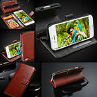 SAMSUNG GALAXY S5 A5 S4 MINI Wallet Flip Rich Leather Case Cover Pouch