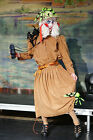 Stage Shows-Mens EXPLORER PANTO DAME-Fancy Dress Costume Sizes SML-XXXXL