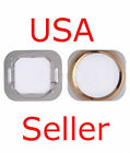 LOT OF 5 Metal Home Button Replacement Part for Apple iPhone 5S