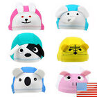 Внешний вид - Baby Swimming Caps Children Lycra Dome Hat Cartoon Multi Designs Unisex
