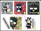 Sanrio BAD BADTZ MARU Car Road Tax Disc License Holder Vacuum Decal Sticker