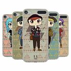 HEAD CASE DESIGNS CHIBI HIPSTERS COVER MORBIDA IN GEL PER APPLE iPOD TOUCH MP3