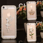 3D Bling Crystal Diamond Protector Skin Case Cover For Various Samsung phones