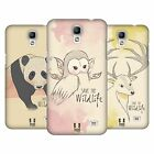 HEAD CASE DESIGNS SAVE THE WILDLIFE HARD BACK CASE FOR SAMSUNG PHONES 4