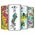 HEAD CASE DESIGNS PEACOCK GEOMETRY HARD BACK CASE FOR LG PHONES 1