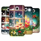 HEAD CASE DESIGNS HOLIDAY CANDLES HARD BACK CASE FOR HTC PHONES 3