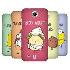 HEAD CASE DESIGNS YUMMY DOODLE HARD BACK CASE FOR HTC PHONES 3
