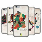 HEAD CASE DESIGNS PATTERNED MAPS HARD BACK CASE FOR APPLE iPHONE PHONES