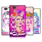 HEAD CASE DESIGNS SUMMER FLORAL LASSIE HARD BACK CASE FOR SONY PHONES 4