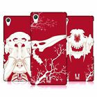 HEAD CASE DESIGNS CHERRY FOSSIL HARD BACK CASE FOR SONY PHONES 2