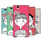 HEAD CASE DESIGNS HI HELLO HARD BACK CASE FOR SONY PHONES 3
