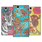 HEAD CASE DESIGNS FANCIFUL INTRICACIES HARD BACK CASE FOR SONY PHONES 3
