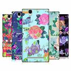 HEAD CASE DESIGNS SUMMER BLOOMS HARD BACK CASE FOR SONY PHONES 3