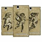 HEAD CASE DESIGNS STONE ANGELS HARD BACK CASE FOR SONY PHONES 3