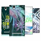 HEAD CASE DESIGNS TROPICAL TRENDS HARD BACK CASE FOR SONY PHONES 3