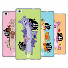 HEAD CASE DESIGNS LONG ANIMALS SOFT GEL CASE FOR HUAWEI PHONES