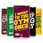HEAD CASE DESIGNS FUNNY WORKOUT STATEMENTS SOFT GEL CASE FOR BLACKBERRY PHONES