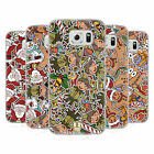 HEAD CASE DESIGNS CHRISTMAS PRINTS SOFT GEL CASE FOR SAMSUNG PHONES 1