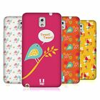 HEAD CASE DESIGNS BIRD PATTERNS SOFT GEL CASE FOR SAMSUNG PHONES 2