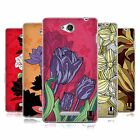 HEAD CASE DESIGNS LA FLOR SOFT GEL CASE FOR SONY PHONES 3