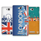 HEAD CASE DESIGNS LONDON CITYSCAPE SOFT GEL CASE FOR SONY PHONES 3