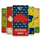 HEAD CASE DESIGNS PRINTED COUNTRY MAPS SOFT GEL CASE FOR SONY PHONES 3