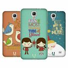 HEAD CASE DESIGNS VINTAGE XMAS SOFT GEL CASE FOR SAMSUNG PHONES 4