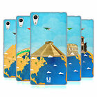 HEAD CASE DESIGNS JOURNEY AROUND THE WORLD SOFT GEL CASE FOR SONY PHONES 2