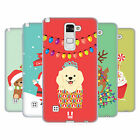 HEAD CASE DESIGNS JOLLY CHRISTMAS TOONS SOFT GEL CASE FOR LG PHONES 3