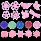 Crop Circles Embosser Stampo Fondant Cake Icing Cutters Cupcake Decorating Mould