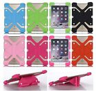 Universal Stand Rubber Soft Silicone Heavy Duty Case Cover Skin For LG Pad