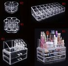 Clear Acrylic Cosmetic Organizer Holder Drawers Jewelry Storage Box Makeup Case
