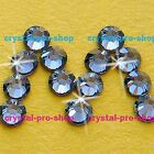 GENUINE Swarovski Denim Blue ( 266 ) Hotfix Rhinestone Iron On Round Crystal Gem